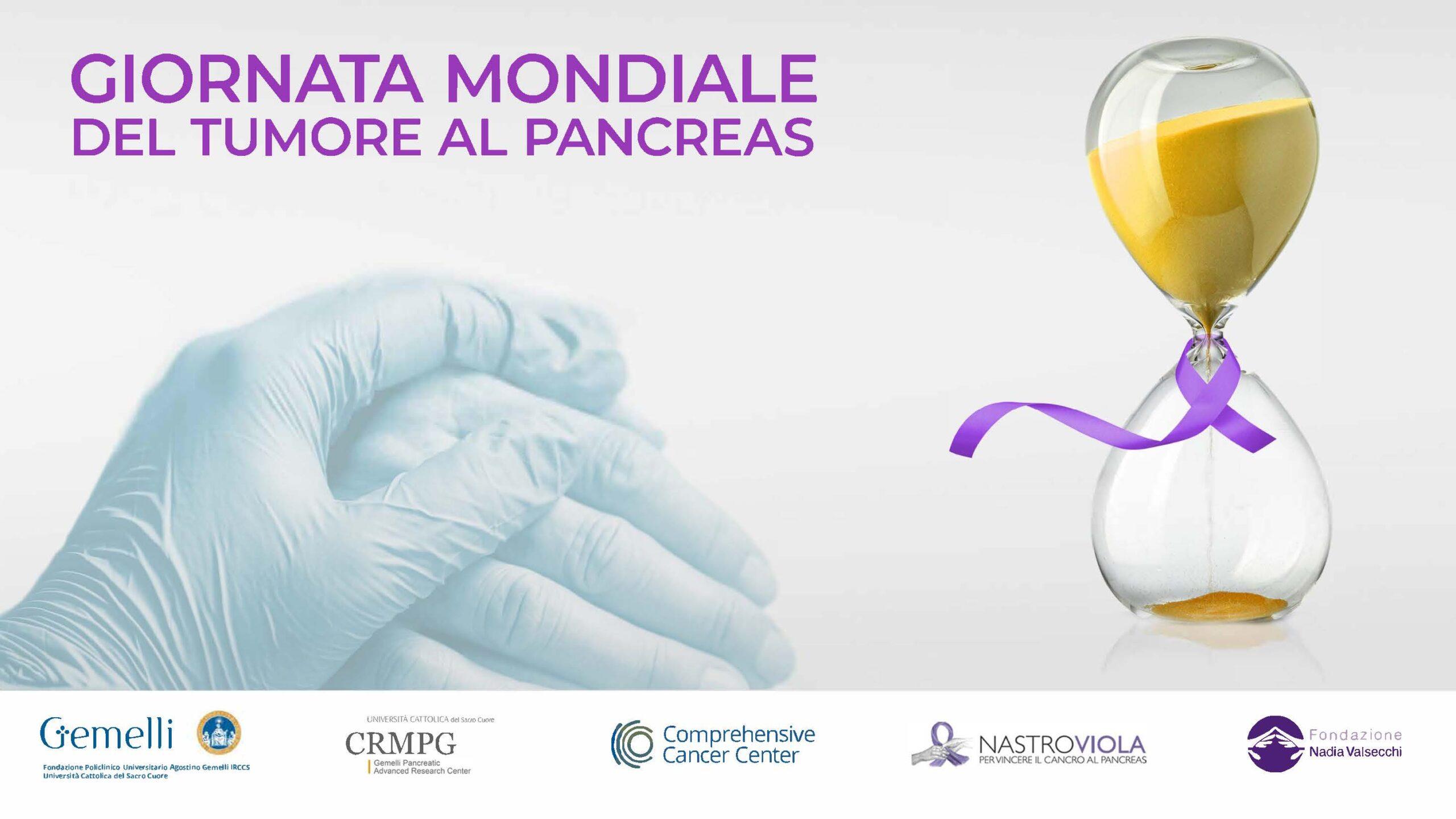 Giornata Mondiale Tumore Pancreas: al via la campagna di..